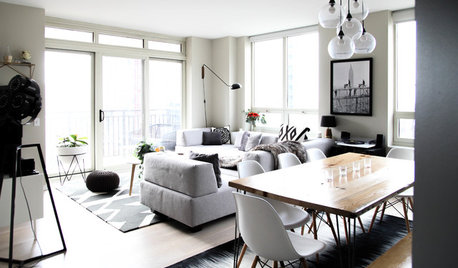 My Houzz: Monochromatic Style in a Chicago High-Rise Condo