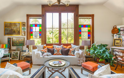 Houzz Tours My Modern Moroccan Chic In A Victorian Carriage House