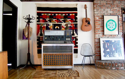 My Houzz: Music and Eclectic Finds Rock a Family's Los Angeles Hideaway
