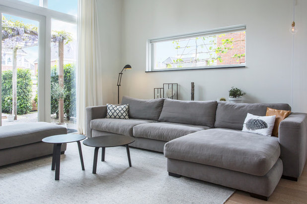 My Houzz Natural Materials And Calming Neutrals In A Dutch Home