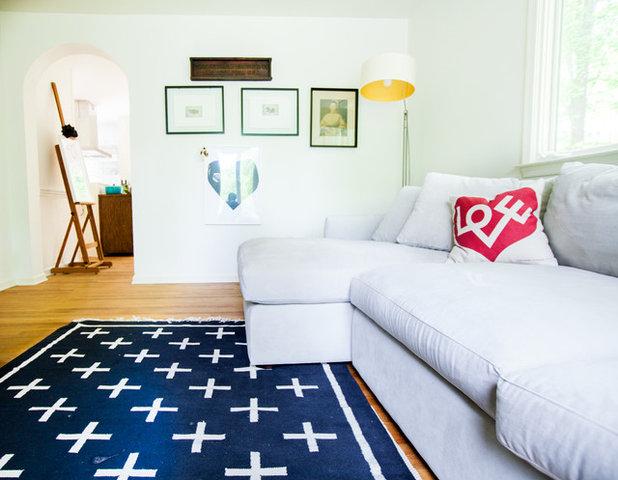 Scandinavian Living Room by Elaine Musiwa