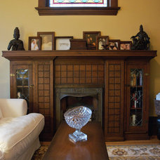 Craftsman Living Room by Heather Merenda