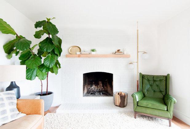 Midcentury Living Room by Alexandra Crafton