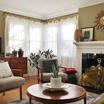 Contemporary Fabric Armchair Transitional Armchairs