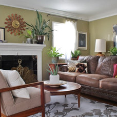 Eclectic Living Room by Kimberley Bryan