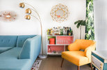 My Houzz: Palm Springs Apartment Bursts With Happy Colors