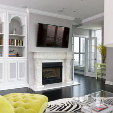 Transitional Living Room by Cynthia Lynn Photography