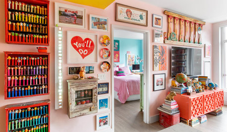 Houzz Tour: This 775-Sq-Ft Flat Goes All Out On Quirk & Colour