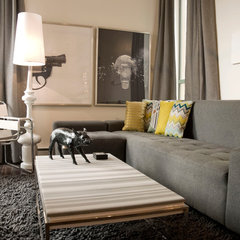modern living room by Heather Merenda