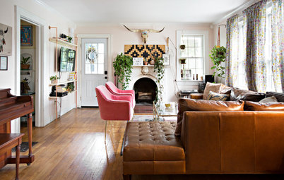 My Houzz: Playful Bohemian Flair for a Nashville Live-Work Home