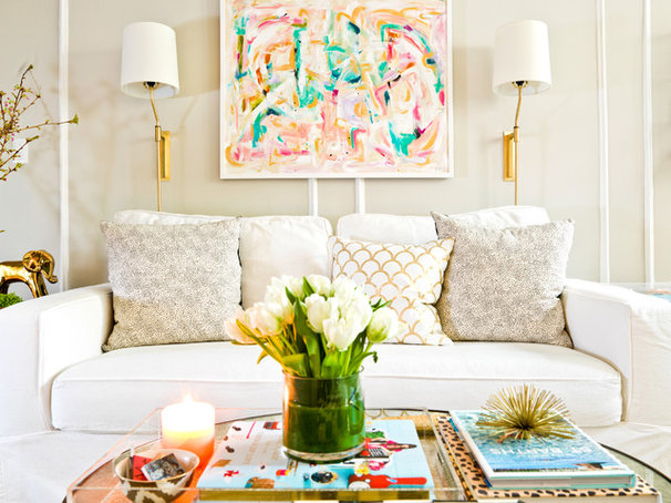 Eclectic Living Room by Cynthia Lynn Photography