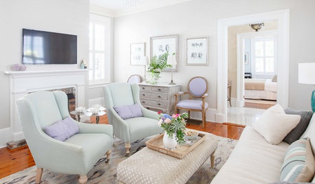 My Houzz: Pretty Pastels and Classic Style in South Carolina