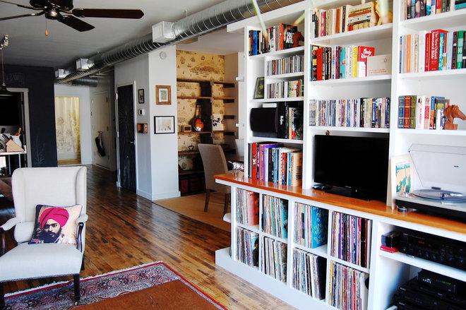Industrial Living Room by Corynne Pless