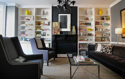 My Houzz: Relaxed Glamour in a Downtown Row House