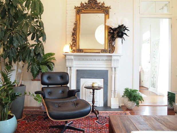 Eclectic Living Room by Kayla Stark