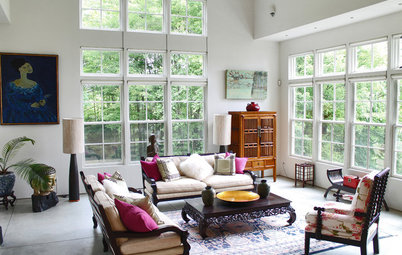 My Houzz: Many Styles Meld Handsomely in a Vermont Countryside Home
