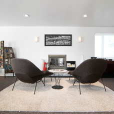 Midcentury Living Room by Lucy Call