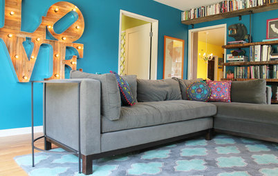 The Best of My Houzz: 10 Living Rooms With Wall Colors to Love