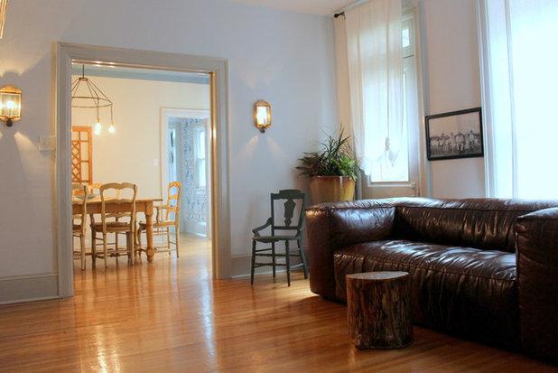 Traditional Living Room By Sara Bates