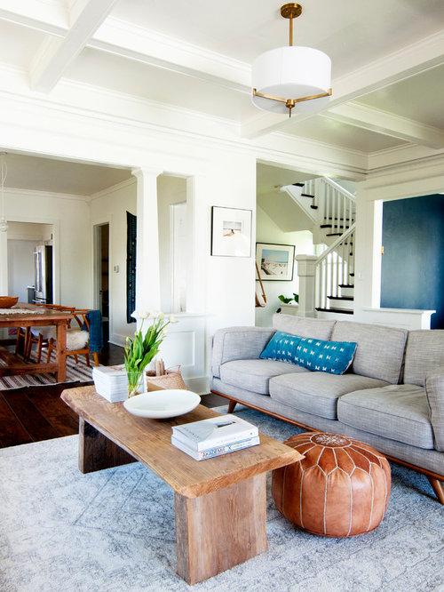 Transitional Living Room Design Ideas, Remodels & Photos ...