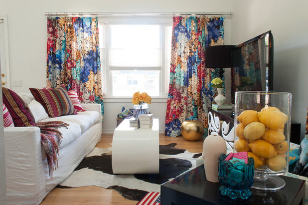 Eclectic Living Room by Angela Flournoy