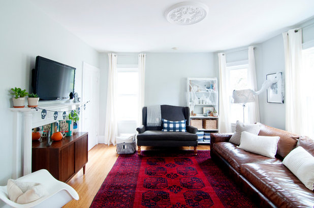 My Houzz Subtle Spookiness In A 1905 New England Apartment
