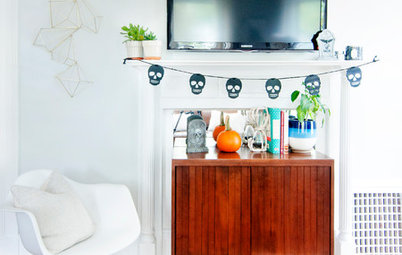 My Houzz: Subtle Spookiness in a 1905 New England Apartment