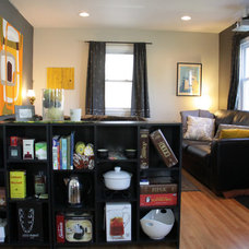 Eclectic Living Room by Kaia Calhoun