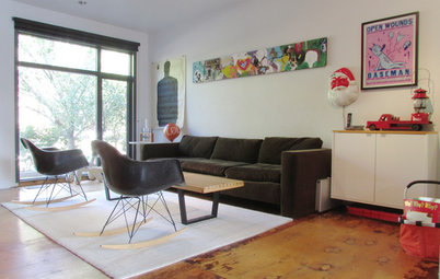 My Houzz: Raw Aesthetics Rule in a Toronto Family Home