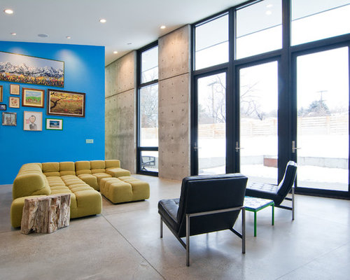Interior Concrete Wall | Houzz