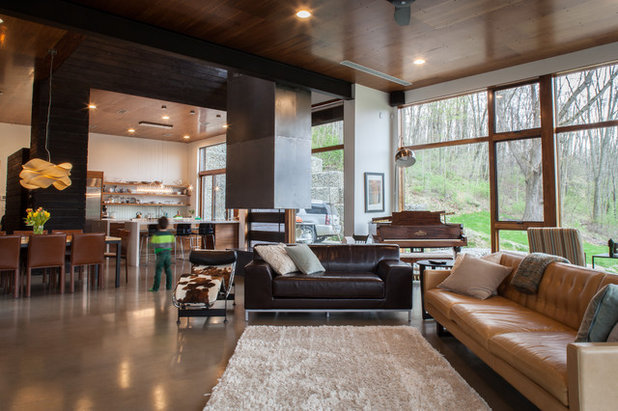 Contemporary Living Room by Jason Snyder