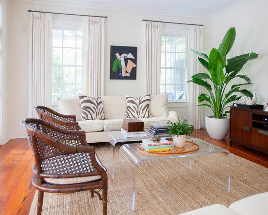 Tropical Living Room Design Ideas Remodels Photos Houzz