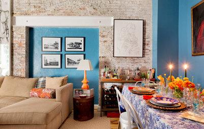 Houzz США: Яркая квартира в Нью-Йорке