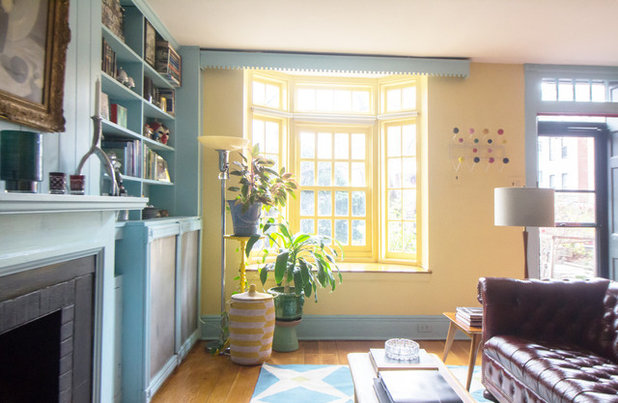 Superieur My Houzz: Vibrant Victorian Row House With Midcentury Style