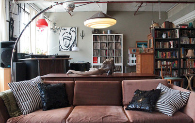 My Houzz: Thrifted Finds Invigorate a Montreal Artist Couple's Loft