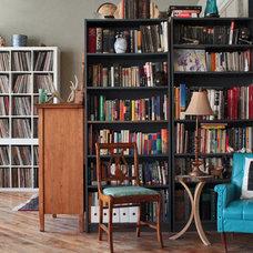 Industrial Living Room by Laura Garner