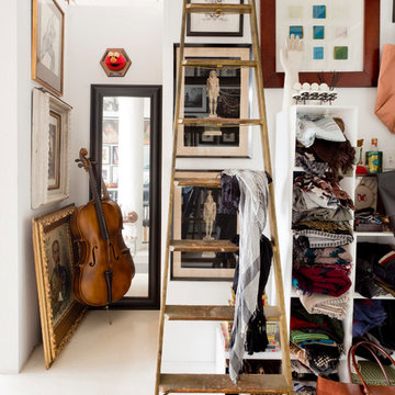 My Houzz: Walls of Art and Glass in a Brooklyn Loft