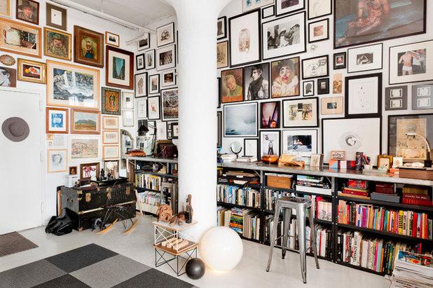 Houzzbesuch: ein loft in brooklyn als kunst  und vintage dschungel