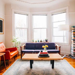 Living room - 1950s living room idea in San Francisco