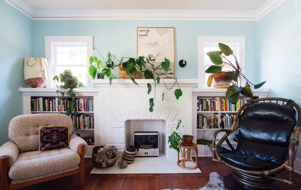 My Houzz: Boho Design in a Colorful 1927 Bungalow on spanish revival bungalow, spanish style bungalow, california spanish bungalow,