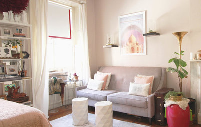 My Houzz: Whimsical, Flirty Style for a Designer's Brooklyn Studio
