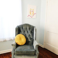Eclectic Living Room (My) Shayna Belcher's apartment