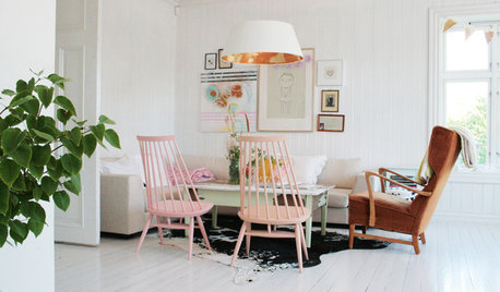 Norwegian Houzz: A Joyous Home Born Out of Creativity and Intuition
