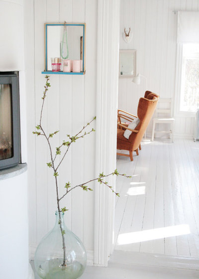 Scandinavian Living Room by Jeanette Lunde