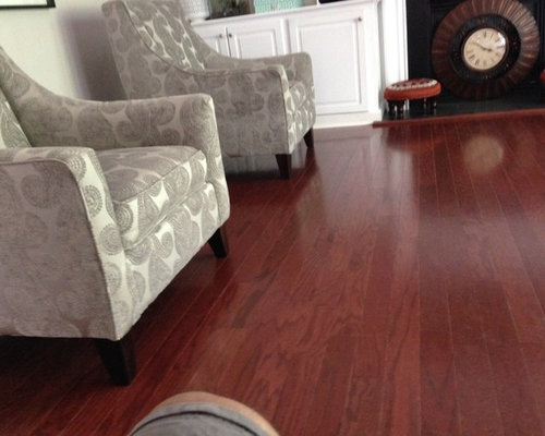 Best Transitional Cherry Wood Flooring Living Room Design Ideas