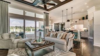 Myrtle Beach SC Grande Dunes Model Home Interior Design