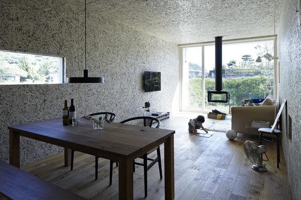 Moderno Soggiorno by no.555 一級建築士事務所
