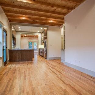 Living room - craftsman living room idea in Dallas
