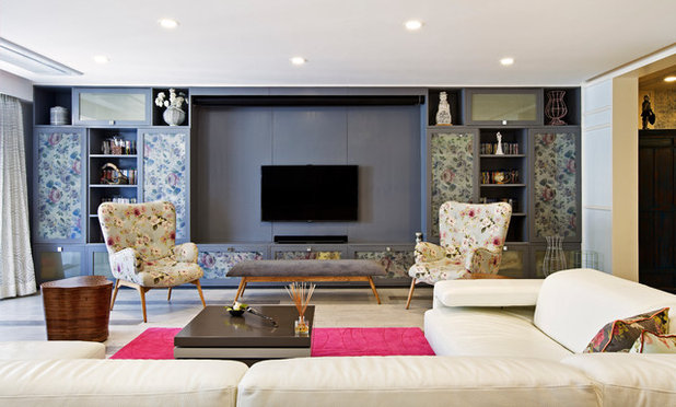 Eclectic Living Room by Fadd Studio