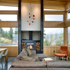 Contemporary Living Room by Balance Associates Architects